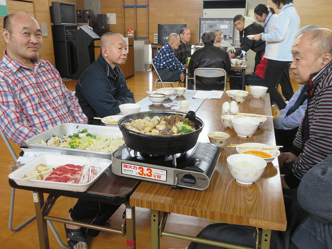 年間行事 冬 鍋昼食会